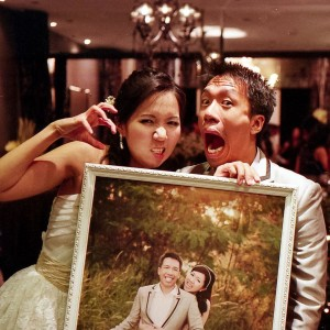 Cliff and Wai Jia's first wedding