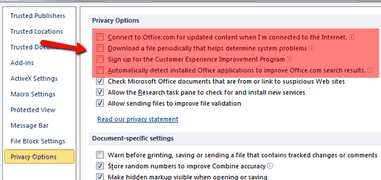 disable-office-improvements-privacy-options
