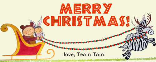 Merry Christmas from Team Tam